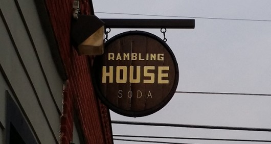 The sign outside Rambling House Soda. Credit: Lantern file photo