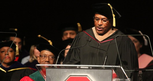 Ohio State alumnus and former football player Archie Griffin is set to step down from his position with the OSU Alumni Association and begin a new job as senior advisor within the OSU Office of Advancement. Credit: Lantern File Photo