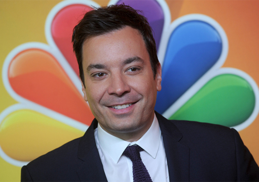 Jimmy Fallon attends the 2014 NBC Upfront Presentation at The Jacob K. Javits Convention Center in New York City on May 12, 2014. Credit: Courtesy of TNS
