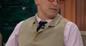 David Sedaris during an appearance on The Late Late Show with Craig Ferguson. Credit: Screenshot of CBS