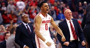 D'Angelo Russell declared for the NBA Draft on Wednesday, becoming the first OSU one-and-done player since Byron Mullens. Credit: Mark Batke / Lantern photographer