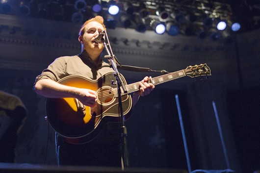 Gavin James of Kodaline performs May 19 at Newport Musical Hall . Credit: Judy Won / Lantern Photographer