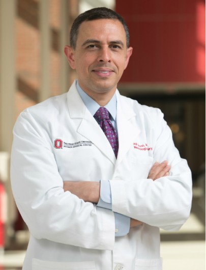 Dr. Ali Rezai, director of the neuroscience program, has been an advocate for the creation of the Center for Brain Health and Performance. Credit: Courtesy of OSU.