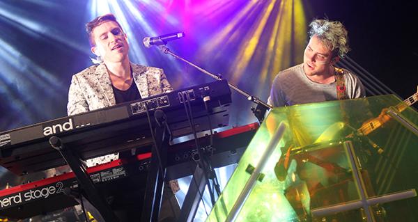Concert review: Walk the Moon's 'different colors' shine despite rain