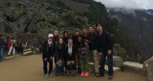 The Volunteers Around the World team spent time visiting local treasures, such as Machu Picchu. Credit: Courtesy of Katelyn Hagstrom.