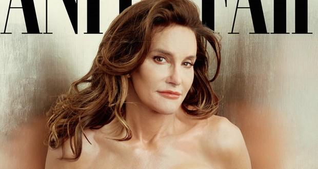 """Caitlyn Jenner on the cover of """"Vanity Fair."""" Credit: Courtesy of TNS"""