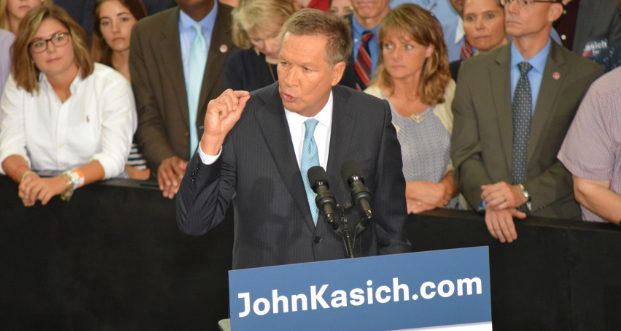 Kasich campaign to be billed $40K for Ohio Union event