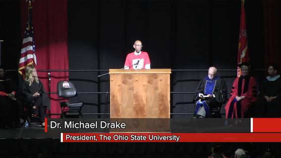 Ohio State Convocation 2015
