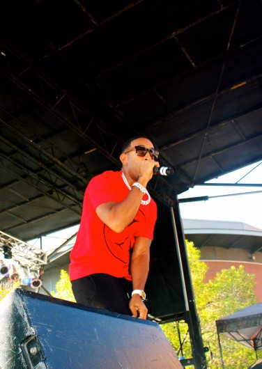 Ludacris performs during the Fashion Meets Music Festival on September 5. Credit: Elizabeth Tzagournis / For The Lantern