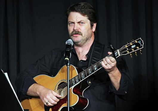 OUAB's graduate and professional committee collaborated with the undergrad sector of OUAB to host Nick Offerman at the Mershon Auditorium in the fall of 2015