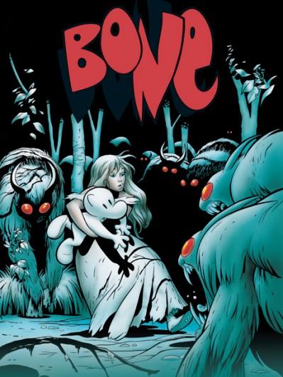 Bone Volume One, 20th Edition. Credit: Courtesy of series creator, Jeff Smith.