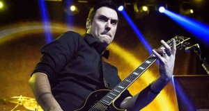 Sept. 15, 2015 - Toronto, Ontario, Canada - BENJAMIN BURNLEY of the American Rock band Breaking Benjamin performed a sold out show at the sound Academy in Toronto. (Credit Image: © Angel Marchini via ZUMA Wire)