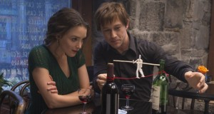 "Joseph Gordon-Levitt and Charlotte Le Bon in ""The Walk."" (Sony Pictures Entertainment) Credit: Courtesy of TNS"
