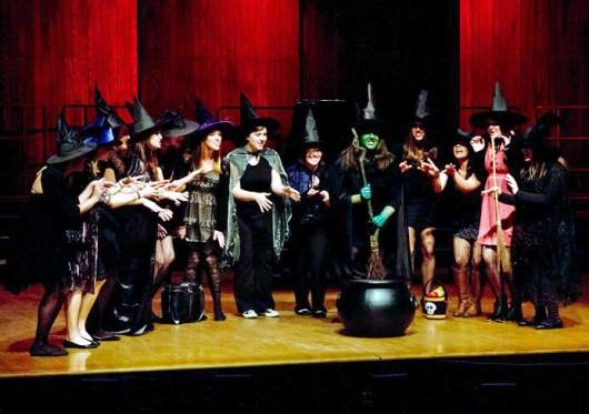 Performers during HalleBOOia 2014 concert at Weigel Auditorium. Credit: Courtesy of Jayne Allison