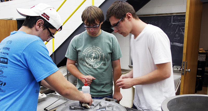 Foundry Club helps students cast the future