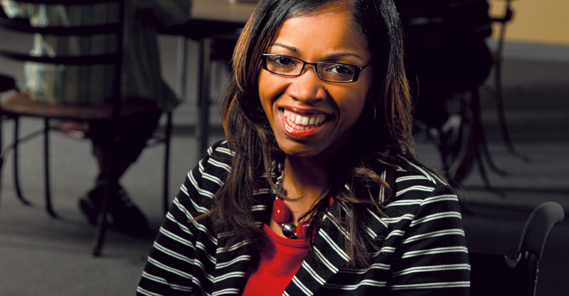 TyKiah Wright, Founder/CEO of WrightChoice, Inc. Credit: Courtesy of Katherine Betts.
