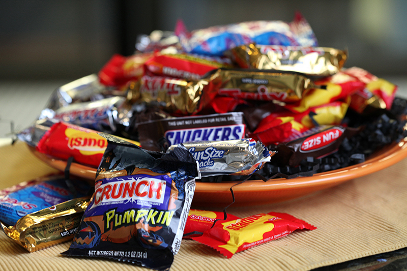 Popular candy items during Halloween. Credit: Courtesy of TNS