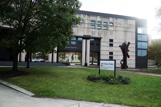 Moritz College of Law is located at 55 West 12th Avenue, Columbus, Ohio. Credit: Muyao Shen / Asst. Photo Editor