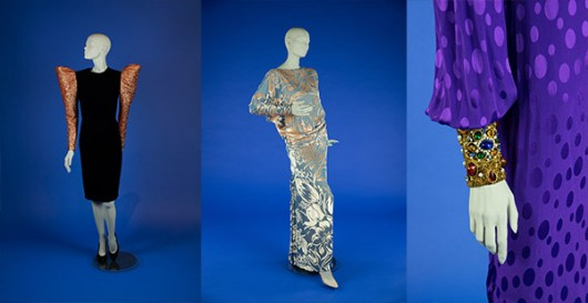 Costumes on display for American Aesthetics. Credit: Courtesy of  Marlise Schoeny