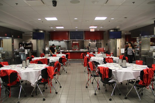 The Instructional Kitchen in The Ohio Union. Credit: Samantha Hollingshead / Photo Editor