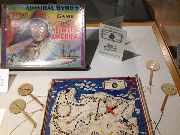 Located in the Thompson Library Gallery from Oct. 5 – Jan. 3, the Mysteries In Ice exhibit showcases the past and present works of the Byrd Polar Research Center and expeditions. Credit: Ian Bailey / Lantern Reporter