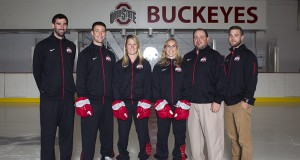 Women's Hockey headshots, team shot and group shots at the OSU Ice Rink in Columbus, Ohio on Monday, September 28, 2015.