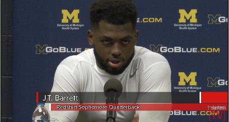 Postgame press conference: Ohio State vs Michigan (11-28-2015)