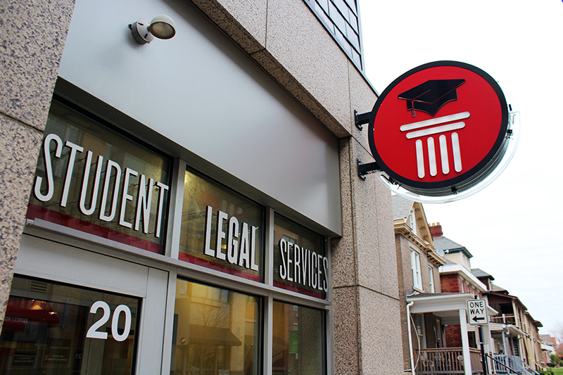 Student Legal Services located at 20 E. 11th Ave. Credit: Michael Huson | Campus Editor