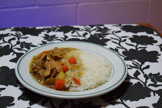 Homemade Japanese curry. Credit: Robert Scarpinito | Copy Chief