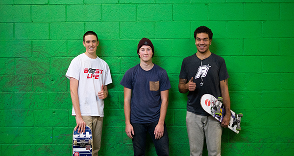 Members of the OSU Skate Club pose for a picture. Credit: Courtesy of Jason Black