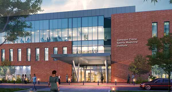 New sports medicine institute set to open next year