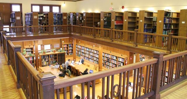 Silent study spots found around campus
