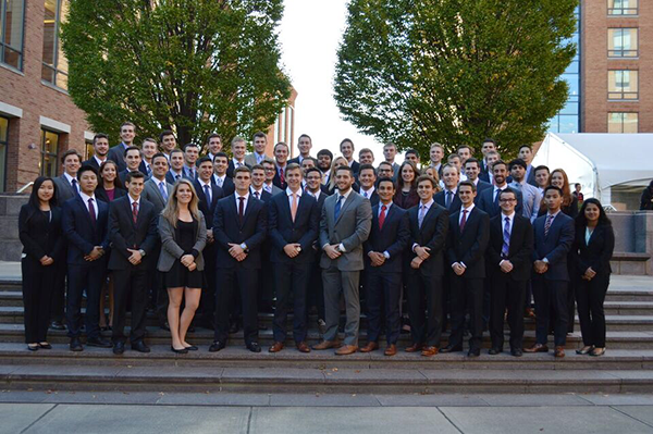 Buckeye Capital Investors students are working their way from Fisher to Wall Street Courtesy: Justin Barth