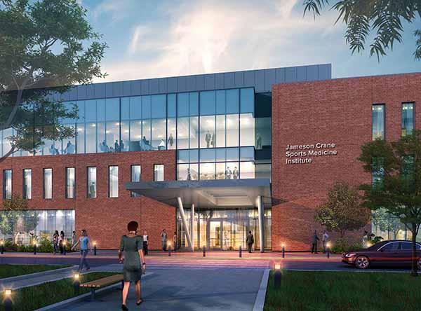 The Jameson Crane Sports Medicine Institute will be located in the Athletics District on North Campus of OSU. Photo credit: William Kosileski | Lantern Reporter