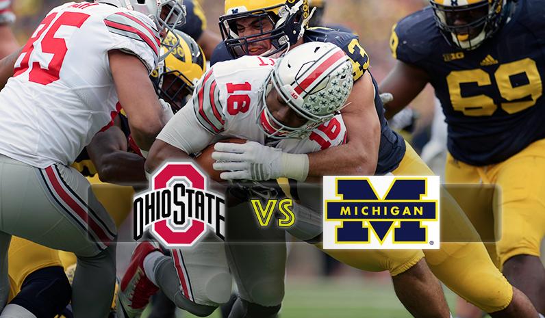 """""""The Game"""" - Ohio State Buckeyes beat Michigan Wolverines 42:13"""