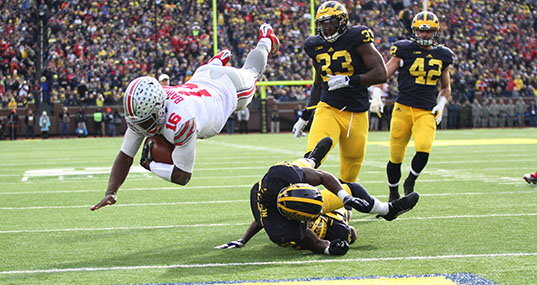 Monday Scarlet Scoop: Ohio State Buckeyes beat the Michigan Wolverines