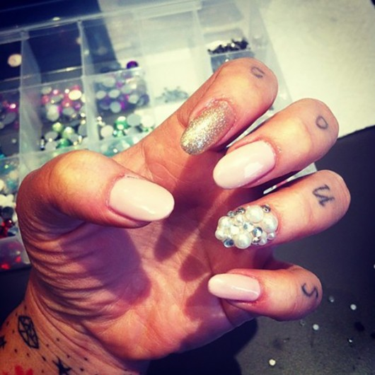 Nails done by LACQUER Salon. Credit: Courtesy of Lisa Suárez-Brentzel