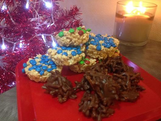 A plate of no bake desserts. Credit: Sallee Ann Ruibal | Arts&Life Editor