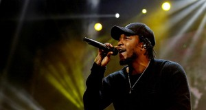 Kendrick Lamar performs during the BET Experience at the Staples Center in Los Angeles on June 27. Credit: Courtesy of TNS