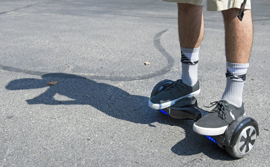 Ohio State bans certain types of hoverboards in university residence halls. Credit: Courtesy of TNS