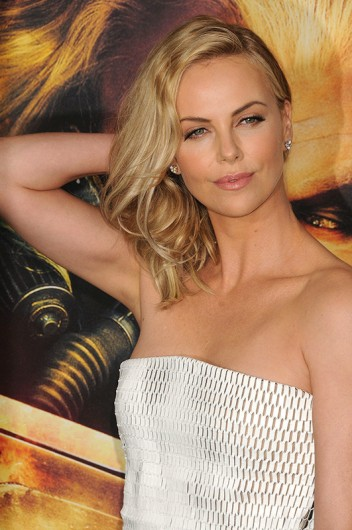 Actress Charlize Theron at the 'Mad Max Fury Road' Hollywood Premiere on May 7. Credit: Courtesy of TNS