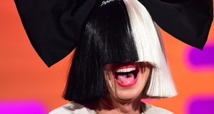 Sia during filming of the Graham Norton Show in London, on Dec. 10. Credit: Courtesy of TNS