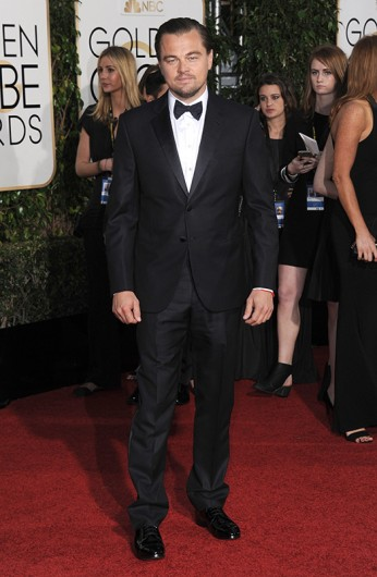 Leonardo DiCaprio attends the 73rd Annual Golden Globe Awards on Jan 10. in Los Angeles, California. Credit: Courtesy of TNS