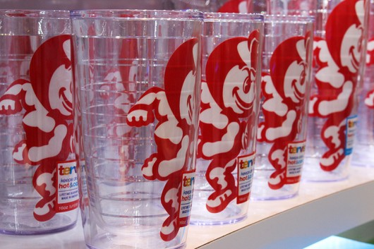 Tervis located at 1572 N High St offers hundreds of selections of insulated cup designs. Credit: Hannah Herner | Asst. Arts&Life Editor