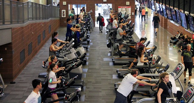 Campus recreational facilities have experienced increased attendance so far this semester. Credit: Maria Fernandez | Lantern reporter