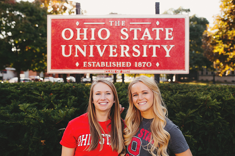 Abby Grossman (right) and Abby Waidelich were elected USG president and vice president on March 12. Credit: Courtesy of Abby Grossman & Abby Waidelich