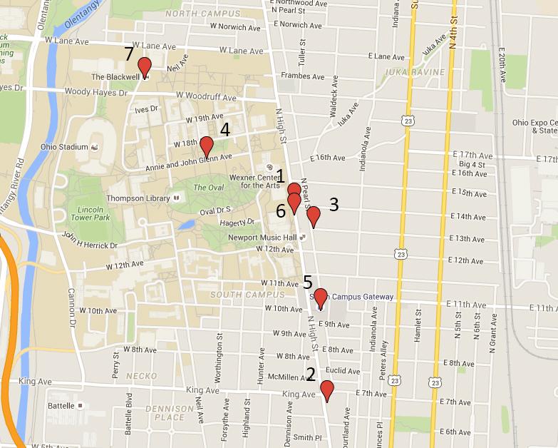 Google Crime Map. Photo illustration by Michael Huson | Campus Editor
