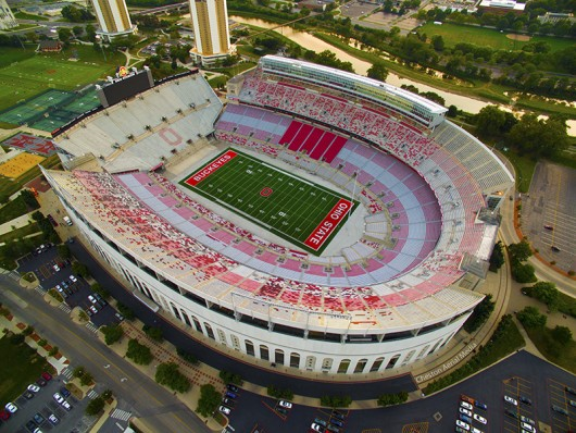 Ohio Stadium and other university athletic facilities could see multi-million dollar renovations. Credit: Lantern File Photo