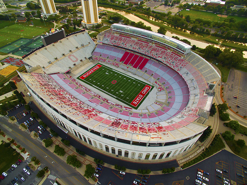 The view of The 'Shoe from a drones point of view. Credit: Courtesy of Joshua Cheston