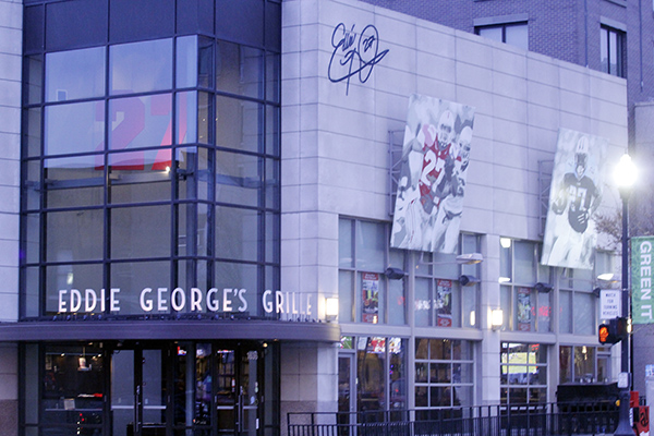 Eddie George's Grille 27 located on 1636 N High St. Credit: Lantern File Photo
